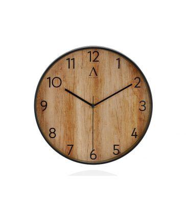 Horloge effet bois D30