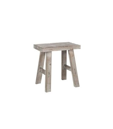 Tabouret rectangulaire antique
