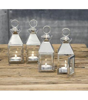 Mini lanterne inox
