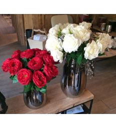 Rose bordeaux H47cm