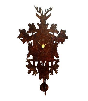 Horloge murale Mignon rouille