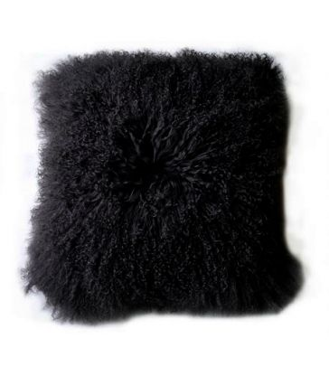Coussin Pollux noir 40*40