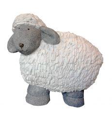 Mouton blanc et gris H49