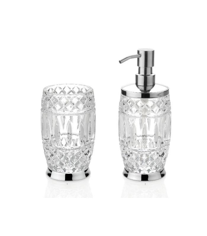 Distributeur de savon verre D8.5/21.5*