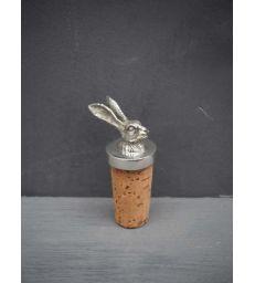 Bouchon liège lapin étain