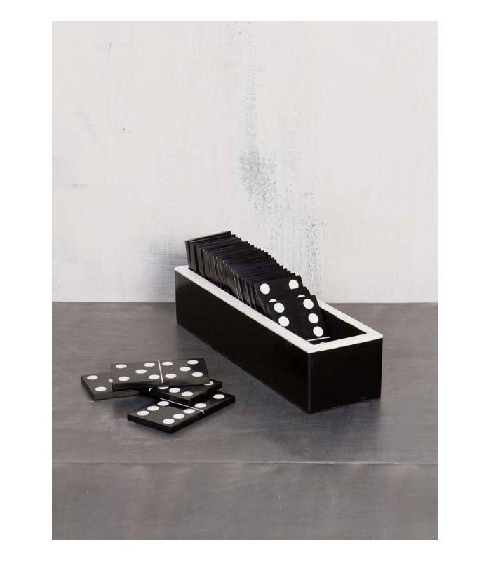 Jeux de dominos (x28) & étui assorti.