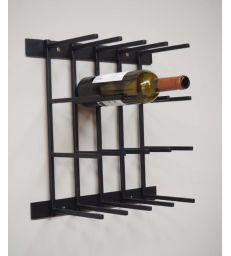 Rangement à bouteilles fer forgé