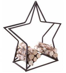 Rack buches métal étoilé H75