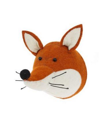 Trophée tête de renard