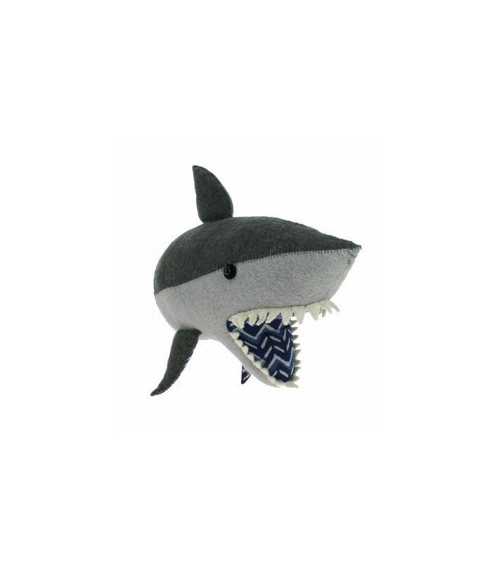Trophée de tête de requin