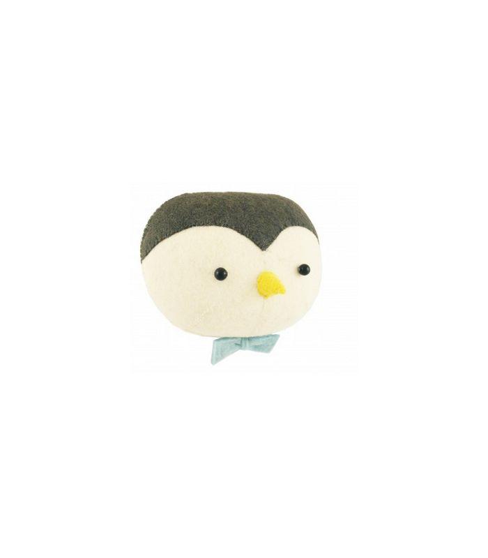 Trophée tête de pingouin