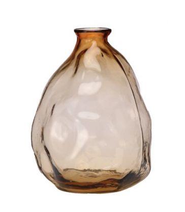 Vase organique bulles beige clair 26cm