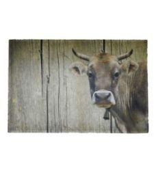 Paillasson vache suisse