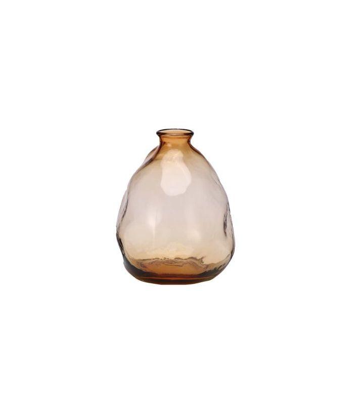 Vase organique bulles beige 19cm