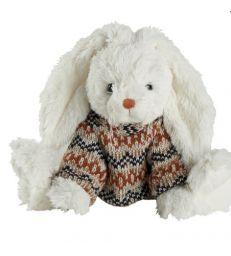 Lapin blanc en pull