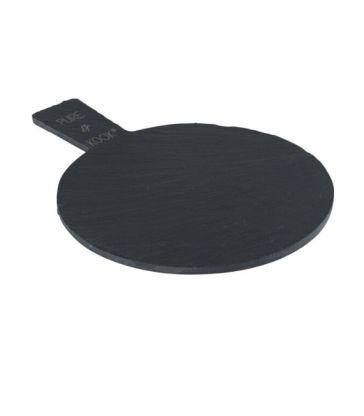Planche en ardoise ronde