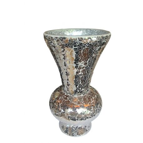 Vase recouvert de mosaïques