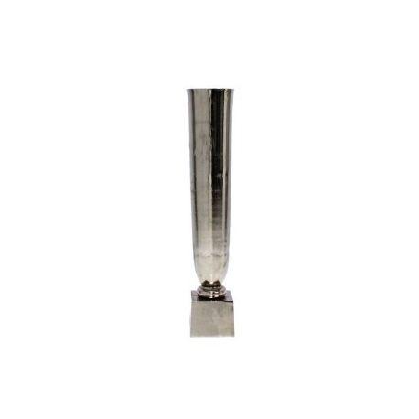Vase cygne moyen nickel