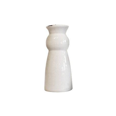vente en ligne d 39 objets d co vase c ramique blanc. Black Bedroom Furniture Sets. Home Design Ideas